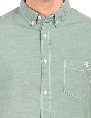 Aeropostale Regular Fit Button-Down Shirt