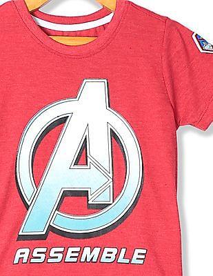Colt Boys Crew Neck Avengers Logo T-Shirt