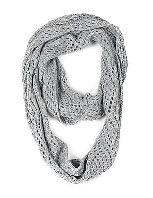 The Children's Place Girls Metallic Threading Infinity Scarf