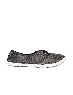 SUGR Metallic Canvas Sneakers