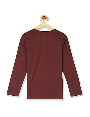 The Children's Place Boys Long Sleeve Graphic T-Shirt