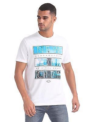 Aeropostale Short Sleeve Graphic T-Shirt