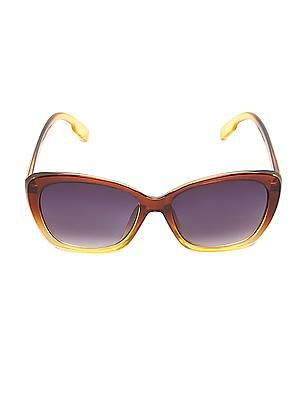 SUGR Gradient Cateye Frame Sunglasses