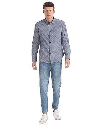 Flying Machine Slim Fit Cotton Shirt