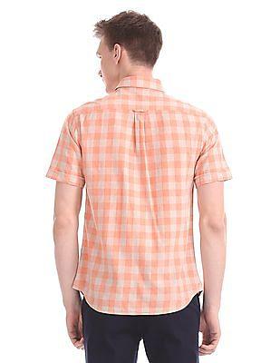 U.S. Polo Assn. Tailored Regular Fit Short Sleeve Shirt