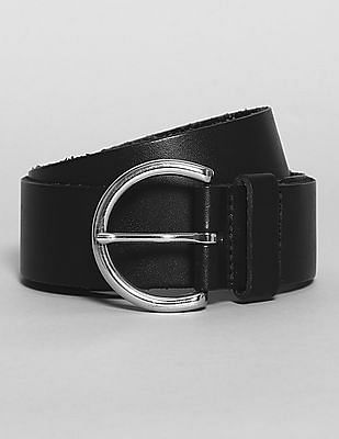 GAP Leather Contour Belt