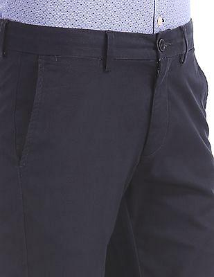 U.S. Polo Assn. Austin Trim Regular Fit Printed Trousers
