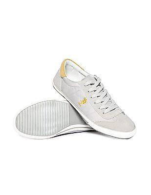 U.S. Polo Assn. Suedette Cap Toe Patterned Sneakers