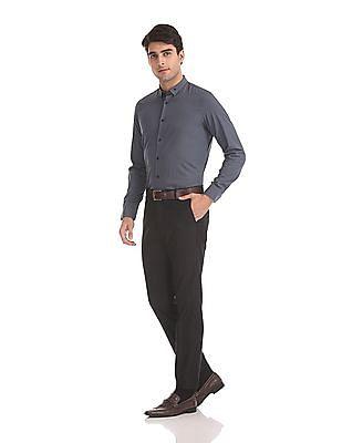 Arrow Newyork Slim Fit Vertical Stripe Shirt