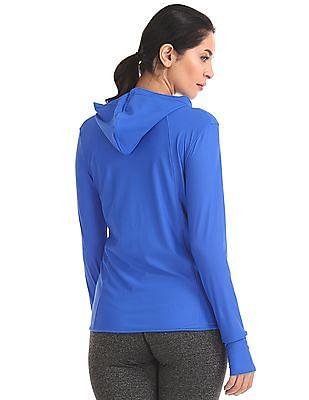 U.S. Polo Assn. Women Quick Dry Hooded Sweatshirt