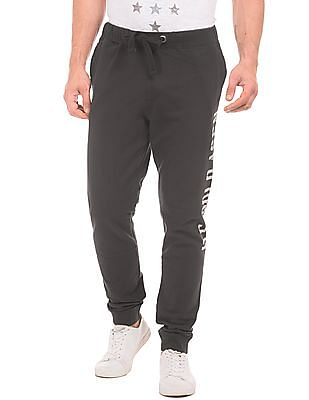 U.S. Polo Assn. Denim Co. Regular Fit Printed Joggers