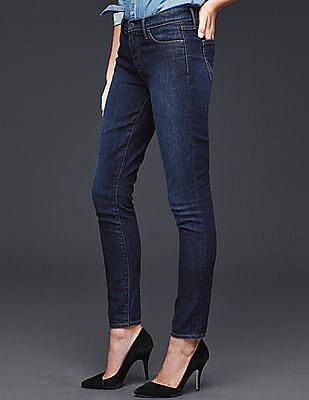 GAP Women Blue Authentic 1969 True Skinny Jeans