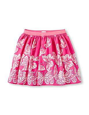 The Children's Place Girls Butterfly Print Skirt