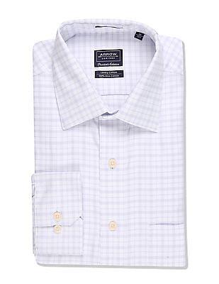 Arrow Regular Fit Checked Shirt
