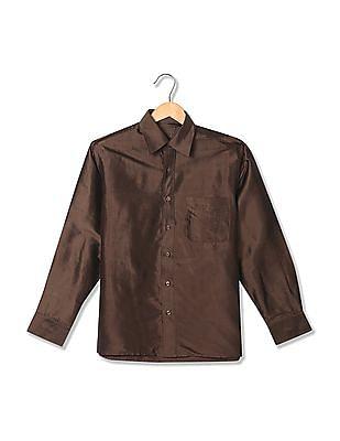 Arrow Regular Fit Silk Shirt