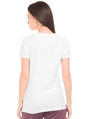 Aeropostale Applique Front Regular Fit T-Shirt