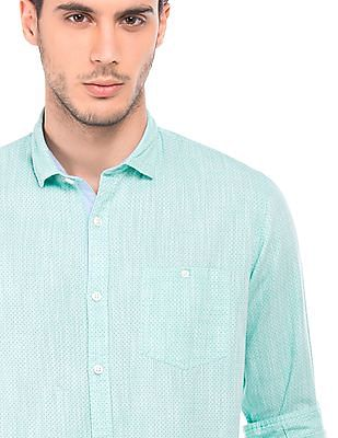 Roots by Ruggers Contemporary Fit Printed Shirt