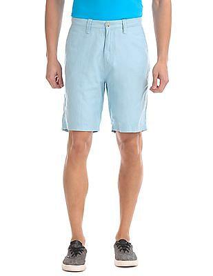 Nautica Linen Cotton Shorts