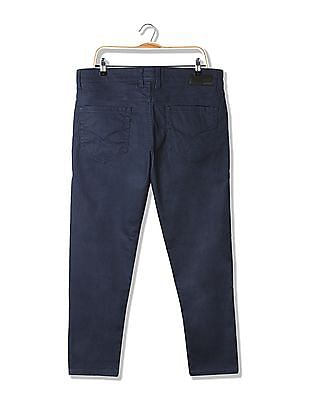 Flying Machine Slim Tapered Fit Solid Jeans