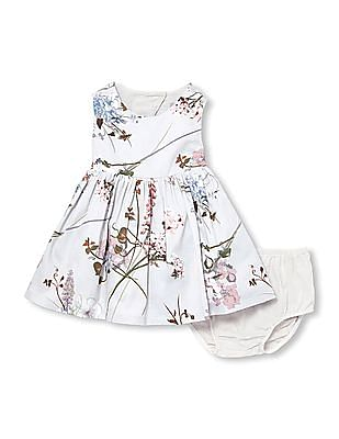 The Children's Place Toddler Girl Sleeveless Floral Print Dress