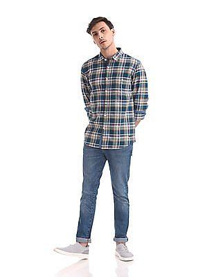 Cherokee Check Cotton Shirt