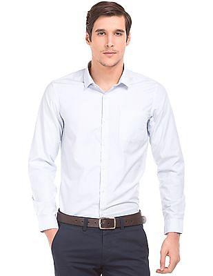 Excalibur Striped Slim Fit Shirt