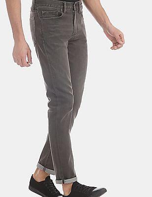 GAP Men Grey Slim Jeans With GapFlex