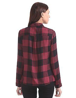 Cherokee Long Sleeve Check Shirt