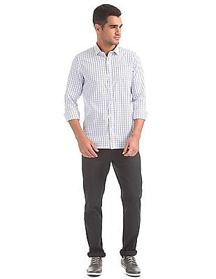 Excalibur Long Sleeve Checked Shirt