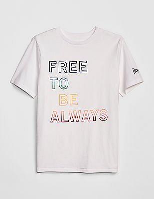 GAP Boys Pride Graphic Short Sleeve T-Shirt
