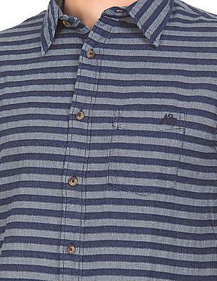 Aeropostale Striped Cotton Shirt