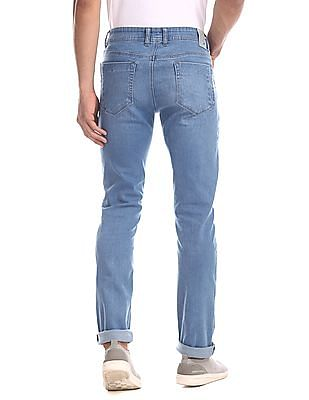 Colt Blue Skinny Fit Stone Wash Jeans
