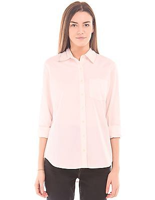 Aeropostale Regular Fit Oxford Shirt