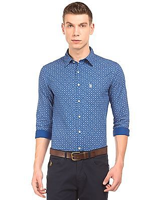U.S. Polo Assn. Printed Regular Fit Shirt