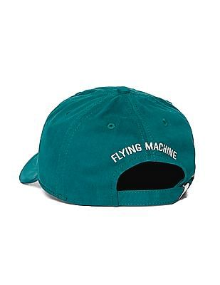 Flying Machine Brand Logo Cotton Twill Cap