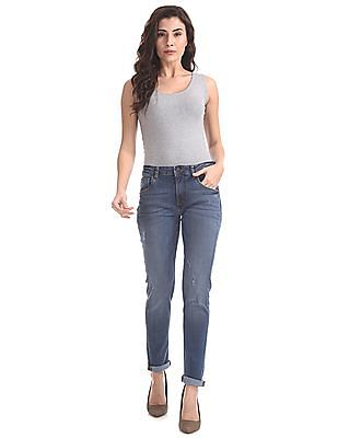 SUGR Slim Fit Mid Rise Jeans