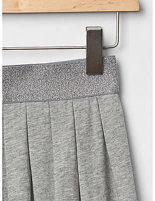 GAP Girls Grey Pleated Skirt