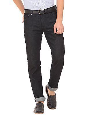 Gant Dark Wash Slim Straight Fit Jeans