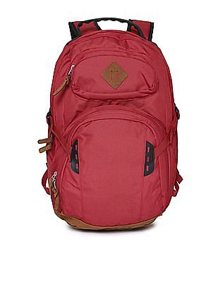 Ed Hardy Suede Leather Laptop Backpack