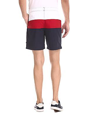 Nautica Mid Rise Double Quick Dry Board Shorts