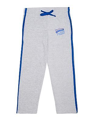 Day 2 Day Boys Contrast Trim Track Pants