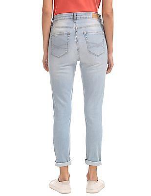 Aeropostale High Waist Distressed Jeans