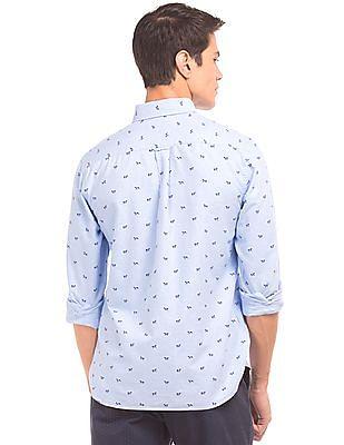 U.S. Polo Assn. Printed Oxford Shirt