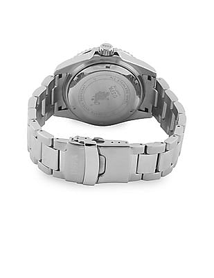 U.S. Polo Assn. Stainless Steel Analogue Date Watch