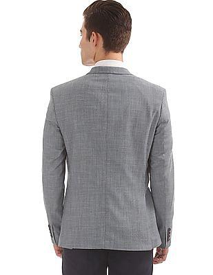 Arrow Patterned British Style Blazer
