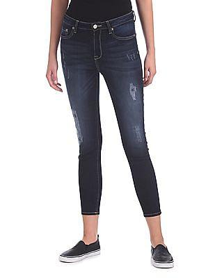 Aeropostale High Waist Stone Wash Jeans