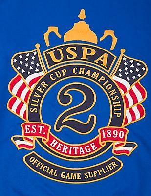 U.S. Polo Assn. Kids Boys Embroidered Applique Sweatshirt