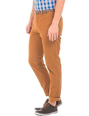 Cherokee Slim Fit Belted Chinos