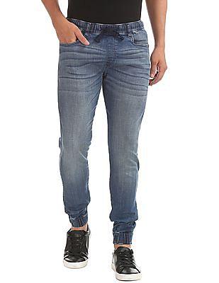 Aeropostale Stone Wash Jogger Jeans
