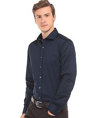 Gant Cutaway Collar Sateen Shirt